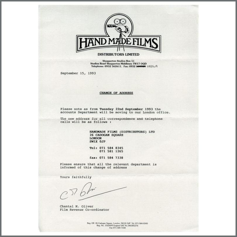 Change Of Office Address Letter from www.tracks.co.uk
