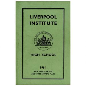 Liverpool Institute Items